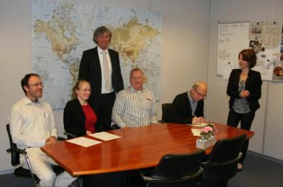Het bestuur van de NEPG.